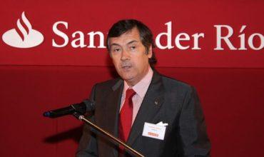 Según el presidente de Santander Río, la economía crecerá